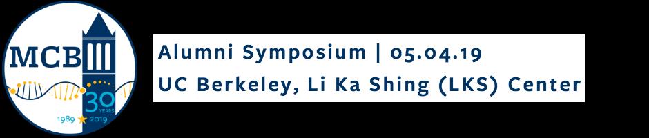 Alumni Symposium | 05.04.19, UC Berkeley, Li Ka Shing (LKS) Center