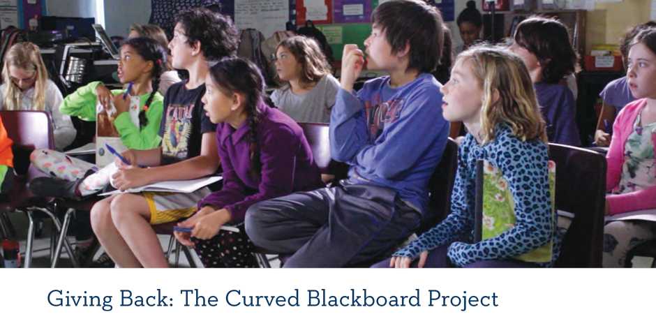The Curved Blackboard Project