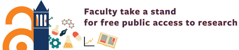 Faculty take a stand for free public access to research