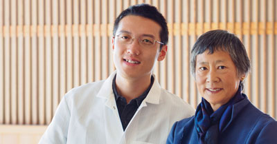 Zichong Li and Nadine Tang