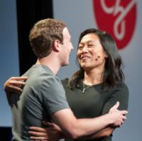 Priscilla and Marck Zuckerberg