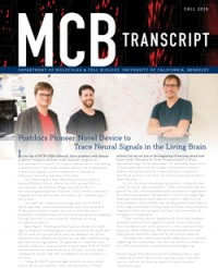 Fall 2018 MCB Newsletter